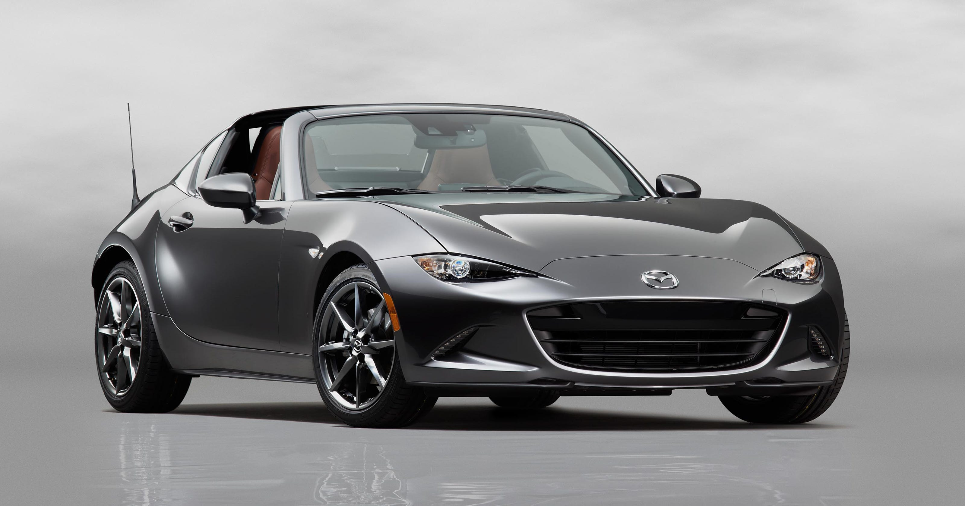 Auto Review Mazda Miata Mx 5 Rf Is More Than Just A Seasonal Hardtop Convertible