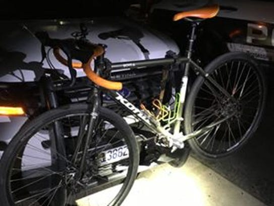 Oxnard police found a bicycle Thursday morning reported