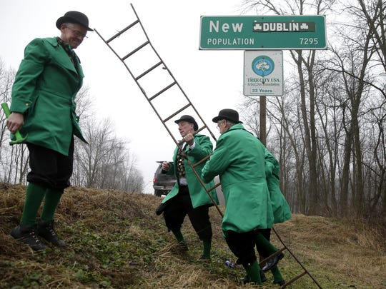 New London will again transform into New Dublin for St. Patrick's Day week.