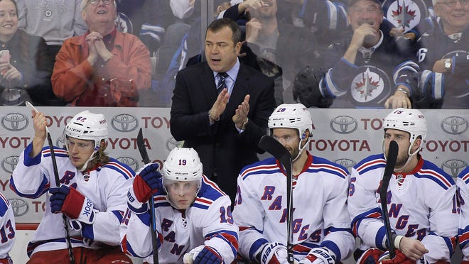 Rangers head coach Alain Vigneault said his team is confident in tight games, with their last 15 contests decided by one goal.