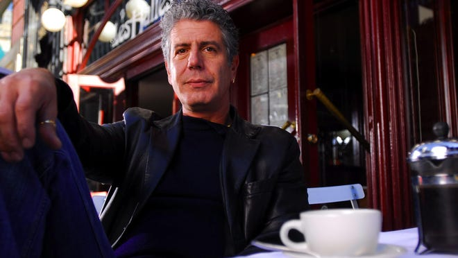 """Anthony Bourdain kicks off this year's """"Close to the Bone"""" tour in Nashville."""