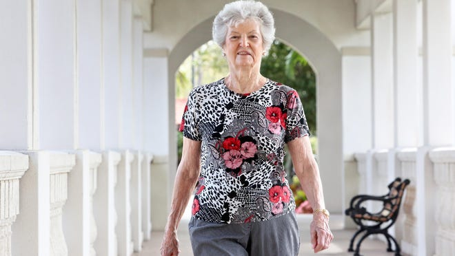 Not many folks can match the walking speed of 90-year-old Josie Hassler, who's one of more than two dozen La Posada residents who will be competing in the Wisdom Warrior Challenge track meet on Saturday.