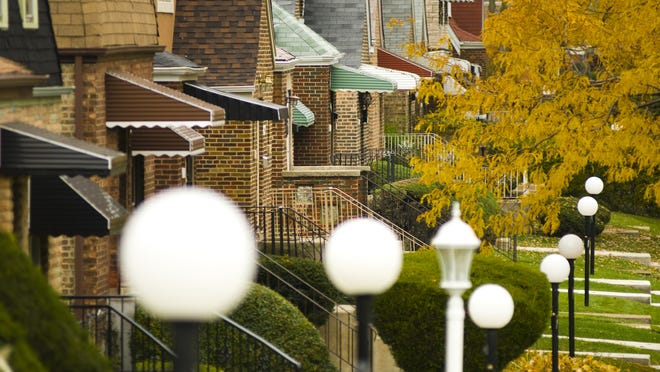 Homes on Chicago's South Side.