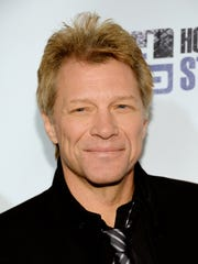 Singer Jon Bon Jovi.