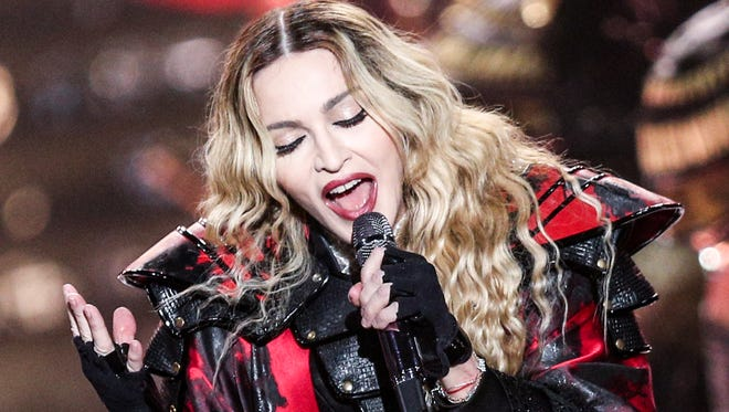 Madonna will make the first Nashville tour stop of her career on Monday.
