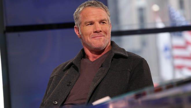 Former Packers quarterback Brett Favre
