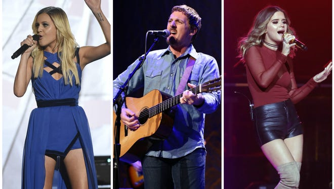 Kelsea Ballerini, Sturgill Simpson and Maren Morris are up for big awards at the 59th annual Grammy Awards.