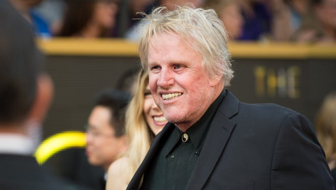 Gary Busey arrives at The 88th Academy Awards on Feb. 28, 2016 in Los Angeles.