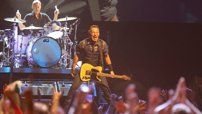 Bruce Springsteen in South Africa in 2014.
