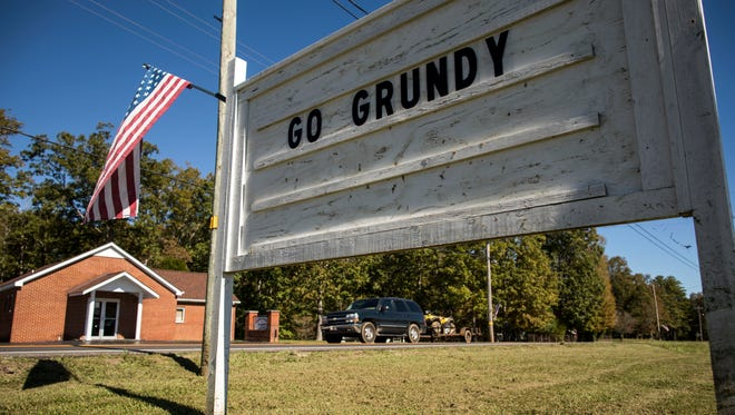 Grundy County High school sports remains a staple of the area, with signs of support dotting the roads in Coalmont, Tenn.