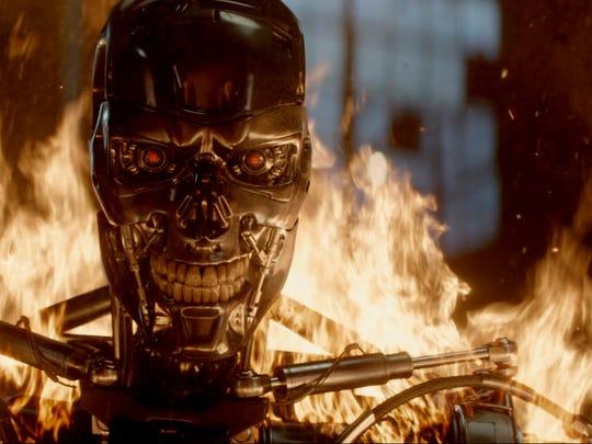 """Series T-800 Robot is seen in """"Terminator Genisys."""""""
