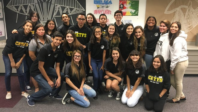 Students in the IB programs at Cathedral City High School and Center for Technical and Higher Education in Mexico recently joined forces during a forum on poverty at the Coachella Valley school.