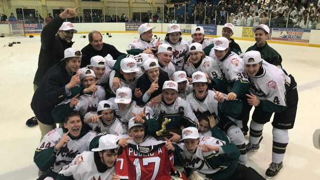 The Red Devils bask in the glory at Mennen Arena