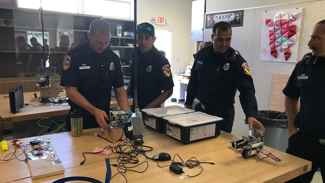 TRECs allow students in the Desert Sands Unified School District to glean first-hand experience and knowledge from working public safety officials.
