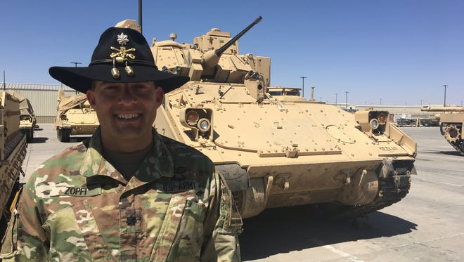 Lt. Col. Mike Zopfi has led the 2nd Squadron, 13th Cavalry Regiment since June 2016. He relinquishes command on April 17.
