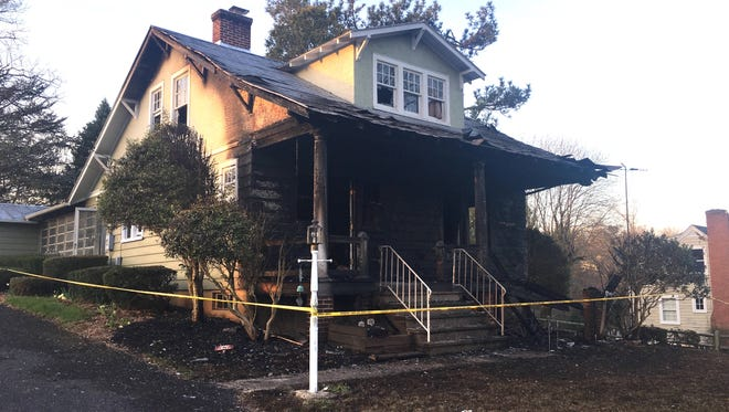 One person was injured Friday in an early-morning fire in Staunton.