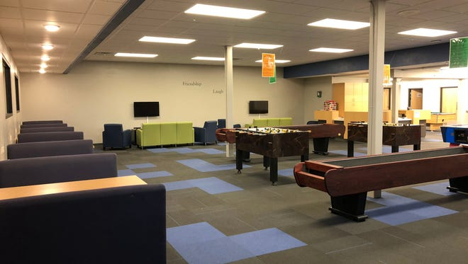 Games Room at the Boys & Girls Club of Portage County's Plover Center