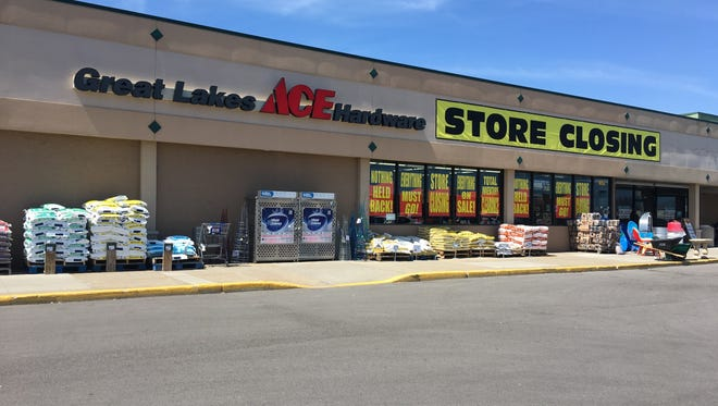 The Great Lakes Ace Hardware location on 24th  Street in Port Huron Township is set to close around the end of June.