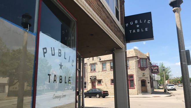 Public Table, 5835 W. National Ave., is gearing up for a July opening. The restaurant plans sliders and flatbreads among its menu items.