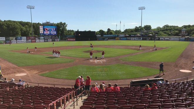 Neuroscience Group Field at Fox Cities Stadium in Grand Chute is the site of this year's WIAA state baseball tournament