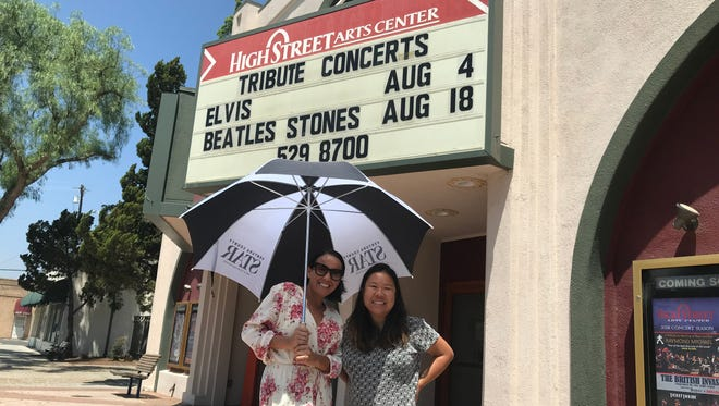 Reporters Arlene Martinez and Wendy Leung where at the High Street Arts Center in Moorpark giving out free tickets to the Ventura County Fair.