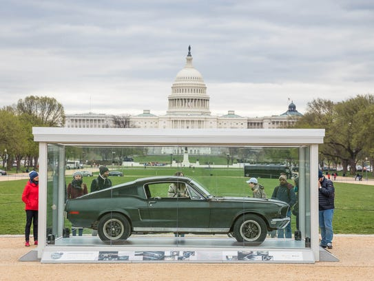 The 1968 Ford Mustang GT made famous by the Warner