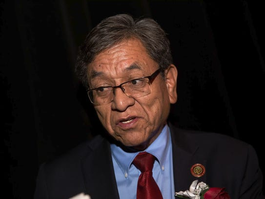 Navajo Nation President Russell Begaye