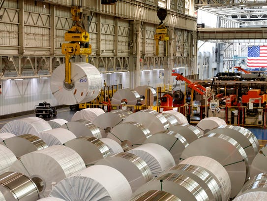 Tri-Arrows Aluminum's plant in Logan County supplies