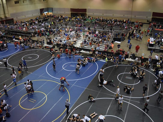 The Grand River Rumble, NUWAY's wrestling tournament,