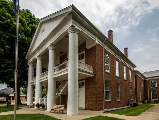 Ohio County Courthouse in Rising Sun. (Provided by