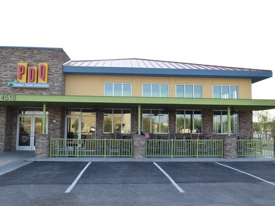 The new PDQ took over the site of a former Coco's near