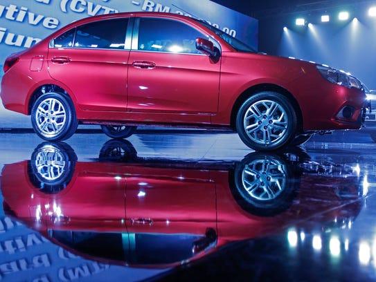 Malaysian national automaker Proton's latest model