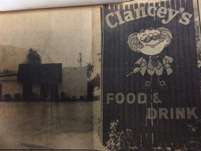 Clancey's circa 1979, two years after the Fort Myers