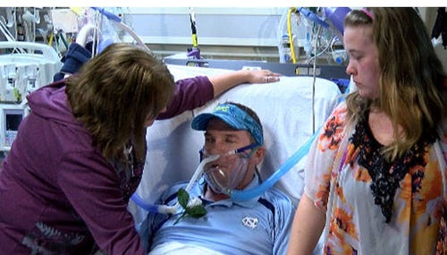 Couple Gets Married In Charlotte Hospital
