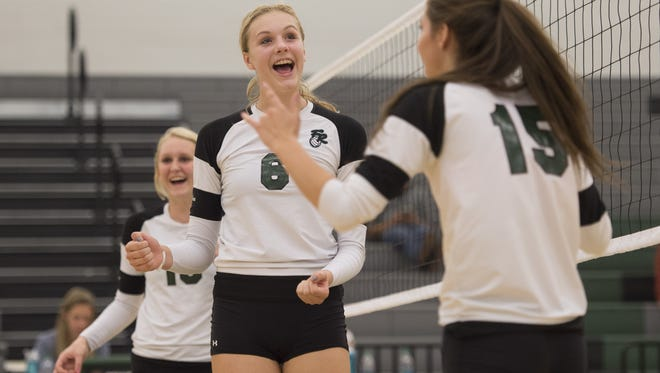 The Fossil Ridge volleyball team is No. 1 in RPI rating in Class 5A. RPI is used to determine playoff fields.