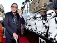 Peter Mayhew and his 'Wookiee medal'