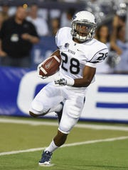 There's little doubt Elijah Mitchell is the fastest player on the Wolf Pack.
