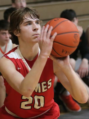 Mansfield Christian's Jared Mount brings back the most experience to the basketball floor this winter.