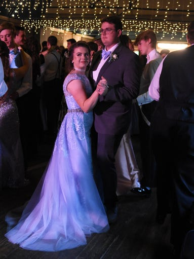Scenes from the Halls High prom at the Foundry on Friday,