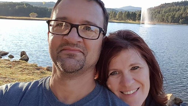 San Angelo residents Mark and Sherrell Bethune survived the mass shooting at the Route 91 Festival in Las Vegas on Sunday, Oct. 1, 2017.