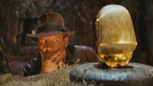 """One of many obstacles for Indiana Jones in """"Raiders"""