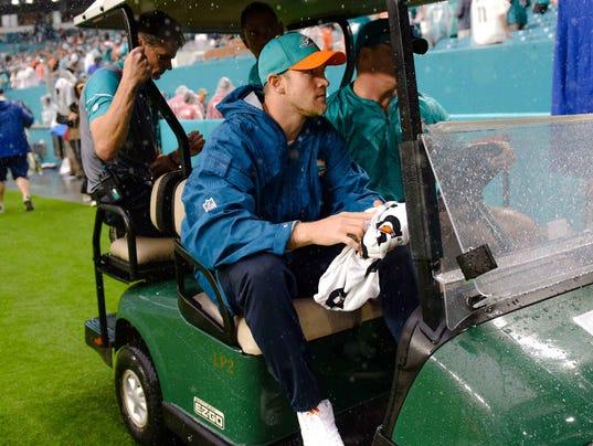 USP NFL: ARIZONA CARDINALS AT MIAMI DOLPHINS S FBN