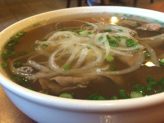 Pho Tai Nam Gan, the small size, at Pho 85 in Ankeny.