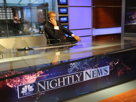 """NBC Nightly News"" anchor Brian Williams was suspended"