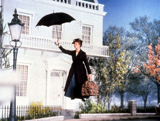 Julie Andrews in 'Mary Poppins'