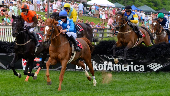 The Iroquois Steeplechase at Percy Warner Park and the Chetenham Raceourse in England will team up to offer a $500,000 to any horse that wins both races in a year.