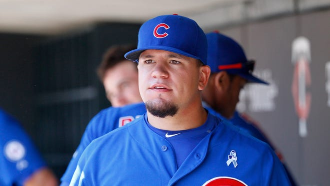 Chicago Cubs' Kyle Schwarber flashed his hitting stroke in his brief MLB call-up.