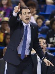 Delaware head coach Martin Ingelsby