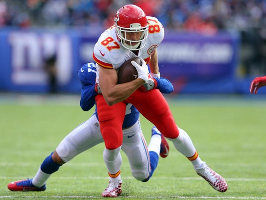 NFL: Kansas City Chiefs at New York Giants