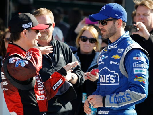 Jeff Gordon, Jimmie Johnson